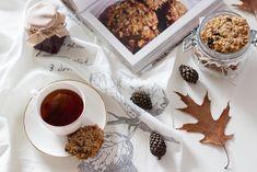 Przepis na ciastka owsiane z orzechami, migdałami i rodzynkami   Kameralna