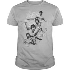 Bruce Lee In Motion - #cheap gift #candy gift. LOWEST PRICE => https://www.sunfrog.com/Movies/Bruce-Lee-In-Motion-White-Guys.html?68278