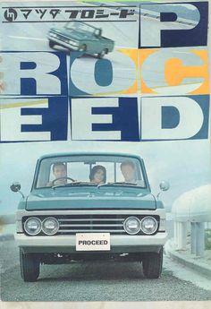 1966 Mazda Proceed 1500 Pickup Truck Brochure Japanese wu7927