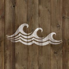 This is our wave stencil design for your crafts and DIY projects.Get this design cut and shipped in only 1 business day. Need a custom size for your wave stencil? Just REQUEST a custom order and we'll create the specific size you want. Make Your Own Stencils, Cool Stencils, Craft Stencils, Wave Stencil, Stencil Painting, Tiki House, Sewing Crafts, Diy Crafts, Scroll Saw Patterns