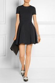 Opening Ceremony Puckered stretch-jersey mini dress