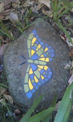 Mosaic Moth in rear garden.