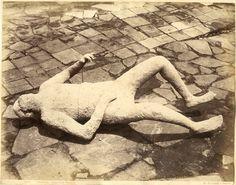 Sommer. Italie, Pompei, Impronte umane     #Europe #Italia #Pompéi_Pompei