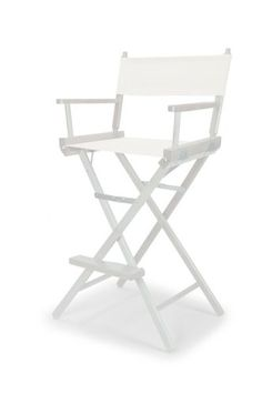 White Directors Chair Trademark Innovations Black Counter Height Directoru0027s  Chair (light