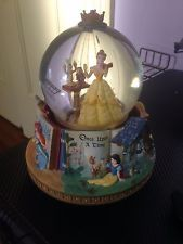 Disney's Beauty and the Beast Snow Globe (RARE storybook)