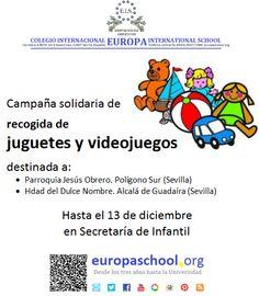 Campaña de solidaridad. Noviembre-diciembre 2013