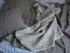 Linen blanket linen summer duvet linen cover by LinenWoolRainbow
