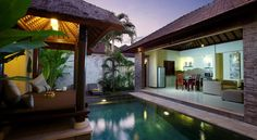 Aberu Villas Canggu A 10-minute walk from Berawa Beach in the tranquil Canggu area, Aberu Villas features luxury villas with private outdoor swimming pools. Villas feature air conditioning, flat-screen TV and free Wi-\Fi. Free parking is available.