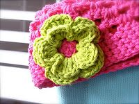 Life at the Daisy Cottage: Double Layer Daisy Crochet Pattern
