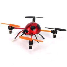 Cheerson Roter Marienkäfer Microquad QUAD HUBSCHRAUBER 6043 #rchelicopter #toys #toysale #fashion