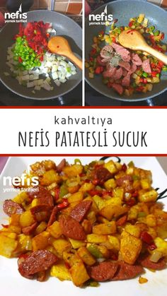 Turkish Recipes, Ethnic Recipes, I Foods, Sweet Potato, Food And Drink, Potatoes, Cooking Recipes, Restaurant, Diet