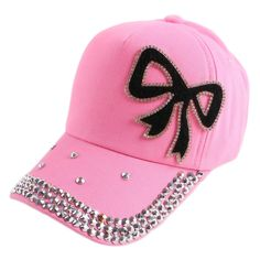 4-12 boy girl child kids beauty baseball cap bling rhinestone bowknot casual outdoor children fashion snapback hat baby gorras