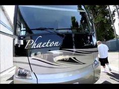 The RV Corral 2014 Tiffin Phaeton 40QBH - 43' Tiffin Phaeton, Tiffin Motorhomes, Rv, Luxury, Videos, Vehicles, Motorhome, Car, Camper