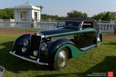 1937 Delage D8-120 Delta Sport Cabriolet by Chapron.