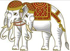 AIRAVATA, the king-god of elephants
