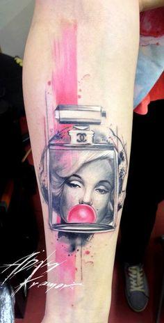 Marilyn Monroe tattoo ❤️vanuska❤️