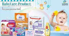 Online babycare products shopping at ezeelo.com from kanpur Making mums life easy! #babycare #babycareproducts #huggies #johnsons #himalaya #mamypokopant #kanpur #ezeelo