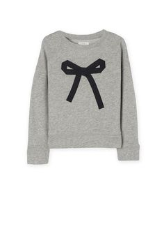 country road | bow applique sweat