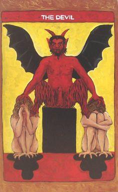 El Diablo en el Tarot. http://iglesiadesatan.com/