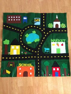 Tuckers' Tales: DIY Car Play Mat