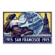 Customisable panama pacific international exposition 1915 gifts - t-shirts, posters, mugs, accessories and more from Zazzle. Choose your favourite panama pacific international exposition 1915 gift from thousands of available products. San Fransisco, Vintage Travel Posters, Vintage Postcards, Panama, Simple Prints, World's Fair, Stretched Canvas Prints, Canvas Material, How To Be Outgoing