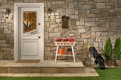 Stone and Brick Cladding for Home Decoration Interior and Exterior Stonewrap