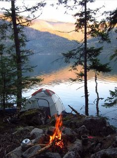 The magic of camping. Camping tips, outdoors.