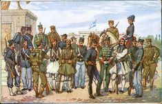 Category:Military uniforms of Greece - Wikimedia Commons Greek Soldier, Army Soldier, Hellenic Army, Army Uniform, Military Uniforms, 19th Century, Empire, Wikimedia Commons, Pictures