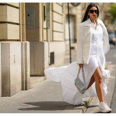 15 ιδέες για υγιεινά γλυκά σνακ διαίτης για τη λιγούρα σου από τη διαιτολόγο - Shape.gr White Dress, Dresses, Fashion, Vestidos, Moda, Fashion Styles, Dress, Fashion Illustrations, Gown
