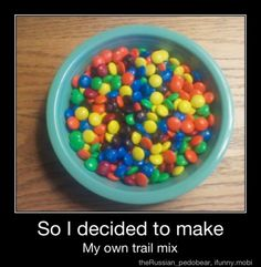 My favorite type of trail mix.