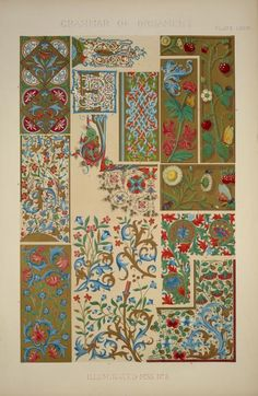 Medieval Ornament Illuminated Manuscripts no. 3: Portions of illuminated manuscripts of the fourteenth and fifteenth cen... (1856)