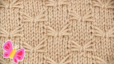 How to Knit the Butterfly Stitch Pattern Instruction with Studio Knit