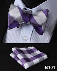 Item Type: Ties Pattern Type: Plaid Department Name: Adult Gender: Men Style: Fashion Material: Silk Size: One Size Ties Type: Bow Tie