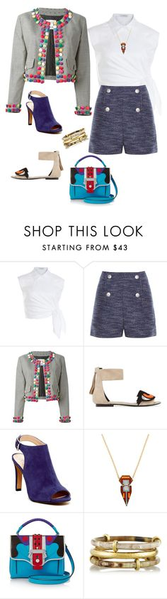 """""""Untitled #434"""" by clothes-wise ❤ liked on Polyvore featuring J.W. Anderson, Balenciaga, Moschino, Pierre Hardy, Vince Camuto, Sandy Hyun, Paula Cademartori and Ashley Pittman"""