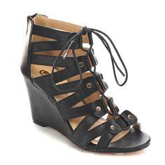 Beston Cc08 Caged Gladiator Sandals (-5.5) Women's