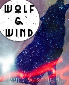 Wolf and wind, a fun combination of snow and starlight