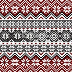 scandinavian patterns and motifs | ノルディック:ノルディックの定番柄