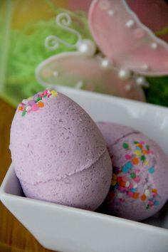 Easter Egg Bath Bombs - Bitz & Giggles