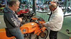 Martin discovers his Laverda Diecimila Corsa 3 cylinder racer www.moto-officina.com #motoofficina #laverda