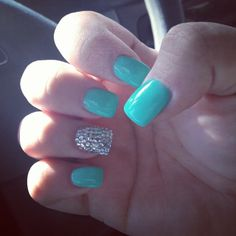 cute Tiffany blue and sparkle