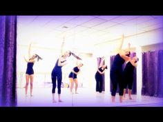 WARM UP MODERN dance class 2016 - YouTube
