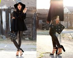 Love the shoes & clutch  Autumn Luxe (by Natalie Liao) http://lookbook.nu/look/4112896-Autumn-Luxe