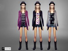 MissFortune Sims: Hipster Outfits • Sims 4 Downloads