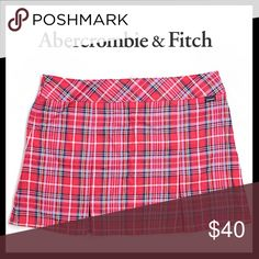 ABERCROMBIE & FITCH Plaid Skirt ABERCROMBIE & FITCH Plaid Skirt Abercrombie & Fitch Skirts