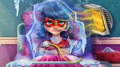 Em Ladybug Gripada, Ladybug é uma super heroína e vive combatendo o mal. Hoje em mais uma luta ela acabou sendo enfeitiçada e congelada. Com isso, ela ficou muito gripada e precisa muito de sua ajuda. Ajude nossa heroína Ladybug ficar curada de sua gripe. Cuide de Ladybug e faça tudo que o medico disse para que ela fique curada logo. Divirta-se!