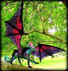 Cute Fantasy Creatures, Mythical Creatures Art, Cute Creatures, Magical Creatures, Beautiful Creatures, Fantasy Dragon, Dragon Art, Fantasy Art, Mystical Animals