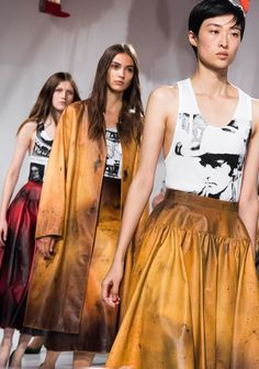 The 8 Top Beauty Trends From the Spring 2018 Fashion Shows - Vogue Fashion Now, Latest Fashion For Women, New York Fashion, Fashion Beauty, Fashion Weeks, Womens Fashion, Calvin Klein, Beauty Trends, Makeup Trends
