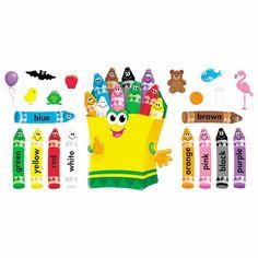 Bulletin Board Crayons