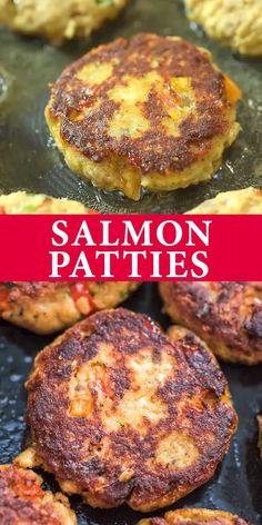 Salmon Patty Recipe Salmon Patty Recipe This Easy Salmon Patty recipe is definitely a keeper. Made with canned salmon and simple ingredients, you'll want to make it again. Salmon Dishes, Seafood Dishes, Seafood Recipes, Cooking Recipes, Healthy Recipes, Crab Cake Recipes, Fish Cakes Recipe, Tilapia Fish Recipes, Dinner Recipes