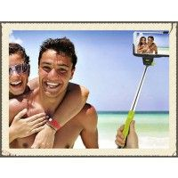 Hot fashion self photo taking monopod Extendable Handheld Telescopic Self-portrait holder Video Photography, Travel Photography, Family Beach Pictures, Selfie Stick, Gifts For Teens, Iphone 4s, Pink And Green, Picture Video, Bluetooth